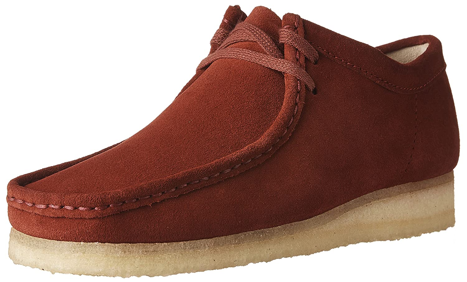 CLARKS Men's Wallabee Shoe B01N7QXZ5M 13 D(M) US|Red Suede