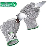 Twinzee® Guanti Anti Taglio - Protezione di Livello 5 ad Alte Prestazioni, Grado Alimentare, Certificato EN 388, 1 paio