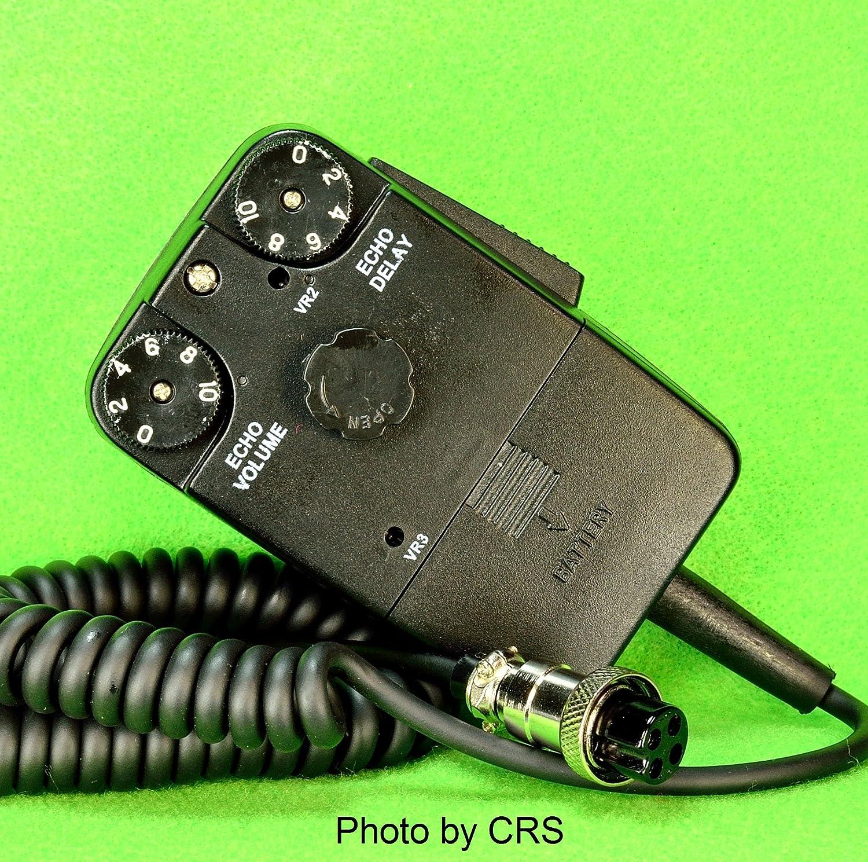 Workman Power//Tornado Echo Mic for CB//Ham Radio 4 pin Cobra//Uniden DM1000
