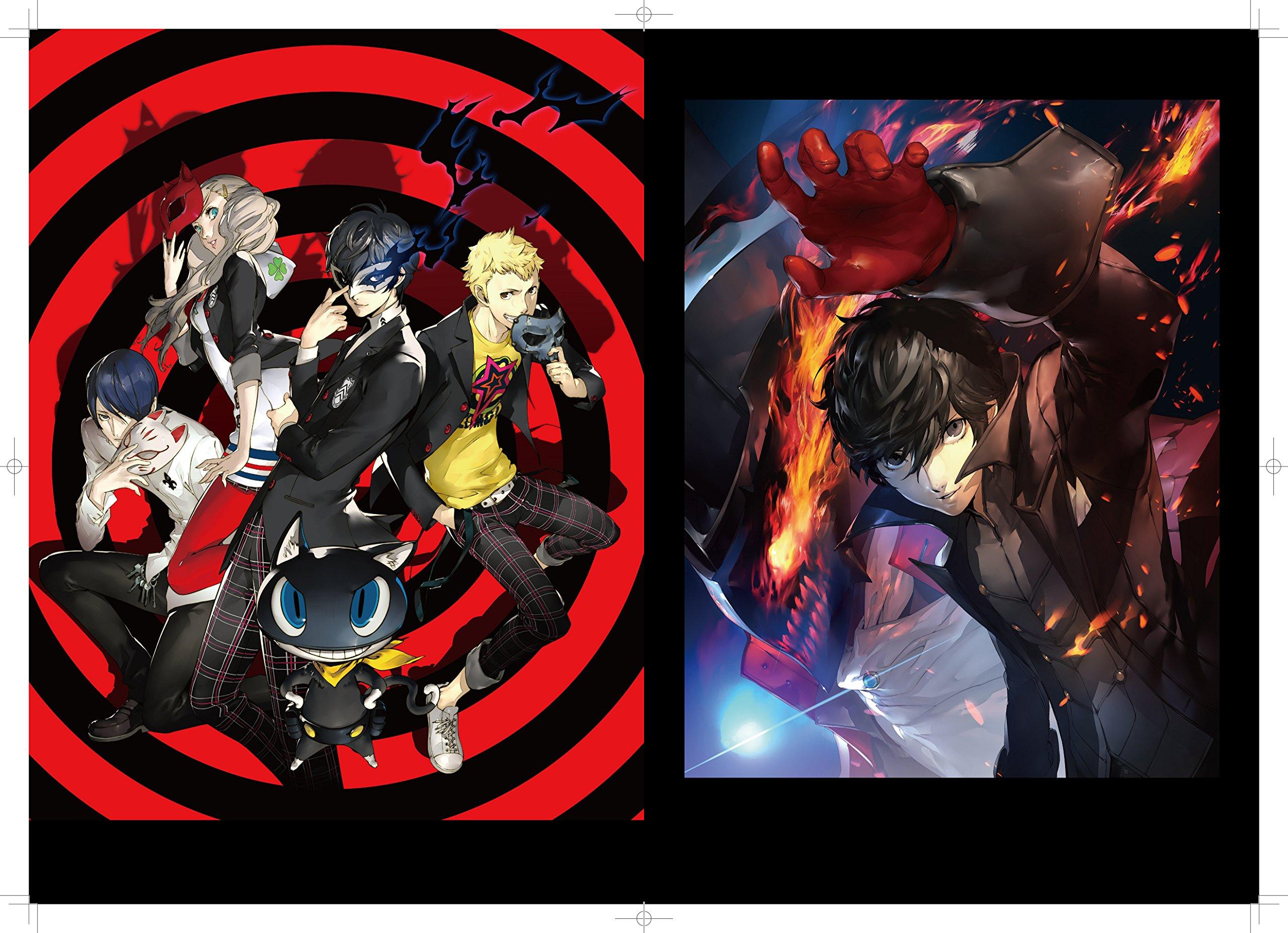 Persona 5 Official Setting Art Book 9784047331907 Amazon Books