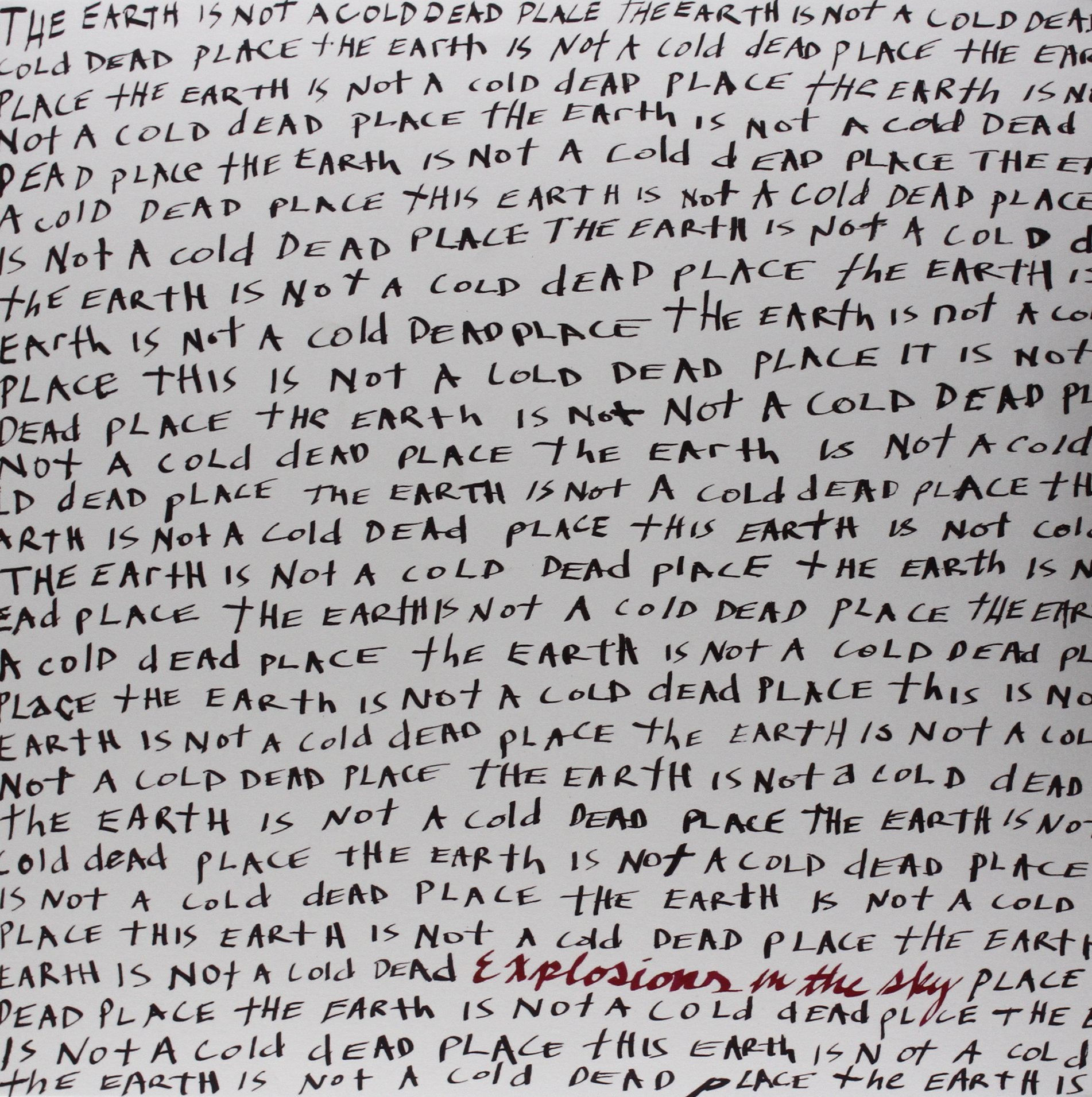 Vinilo : Explosions in the Sky - Earth Is Not a Cold Dead Place (2 Disc)