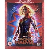 Marvel Studios Captain Marvel 3D Blu-ray DVD