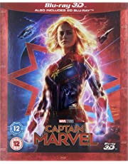Captain Marvel 3D Blu-ray