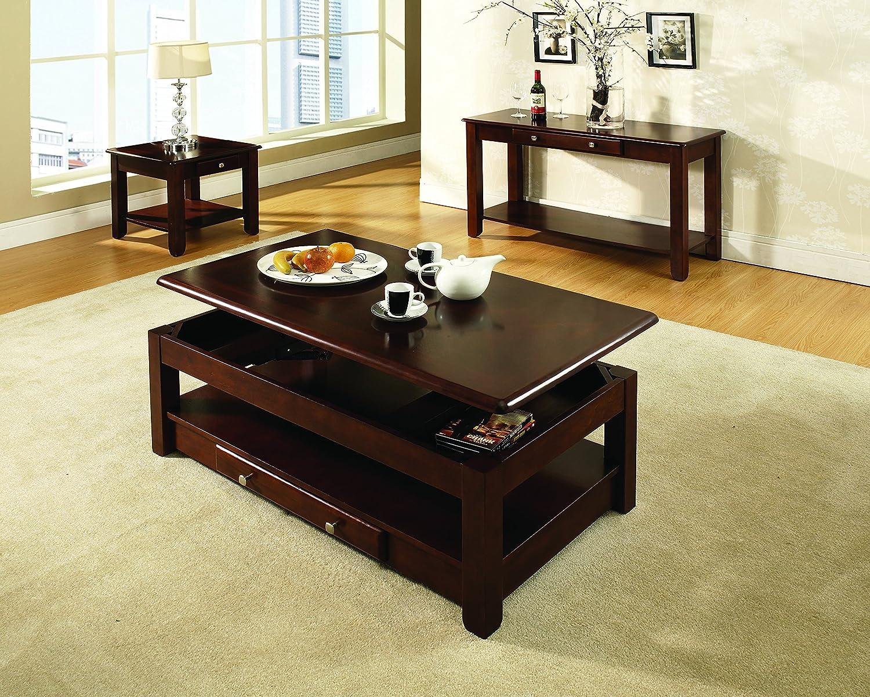 Steve Silver Company Nelson Sofa Table, Cherry