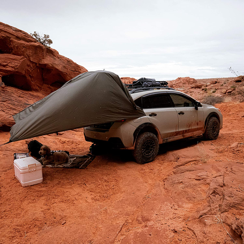 10x10 100/% Waterproof Lightweight SilNylon Bushcraft Camping Shelter 10x7 13x10 20x13 Olive Drab or Camo Aqua Quest Safari Tarp