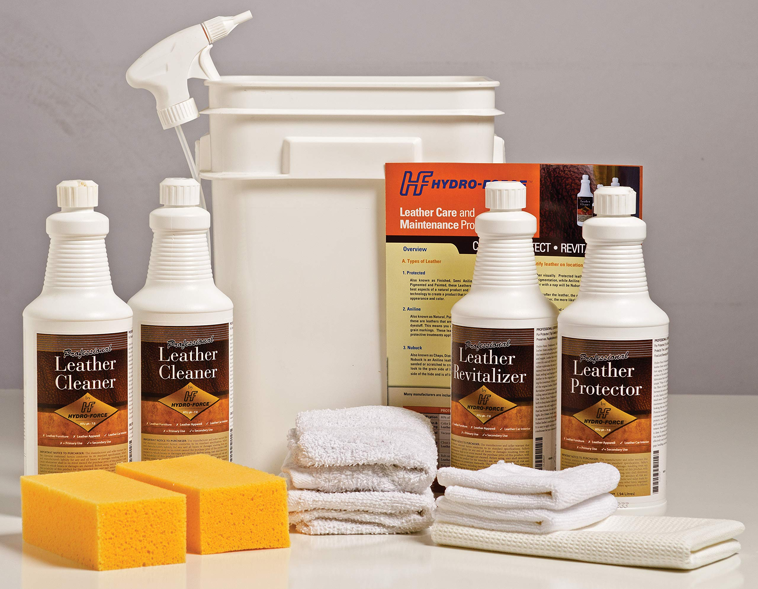 Hydro-force Complete Leather Kit