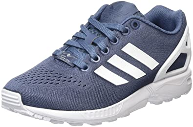 official photos 71784 62fbb adidas ZX Flux Em, Baskets Basses Mixte Adulte, Bleu FTWR WhiteTech Ink