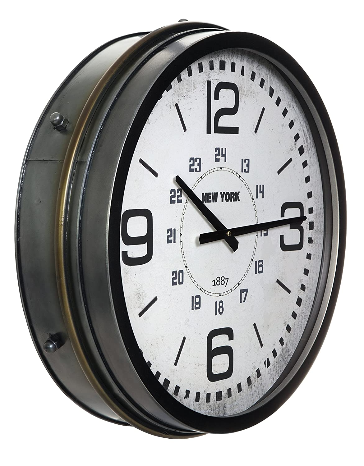 6 by 6-Inch 3dRose dc/_63209/_1 The Flag of Sweden with Kingdom of Sweden in English and Swedish Desk Clock