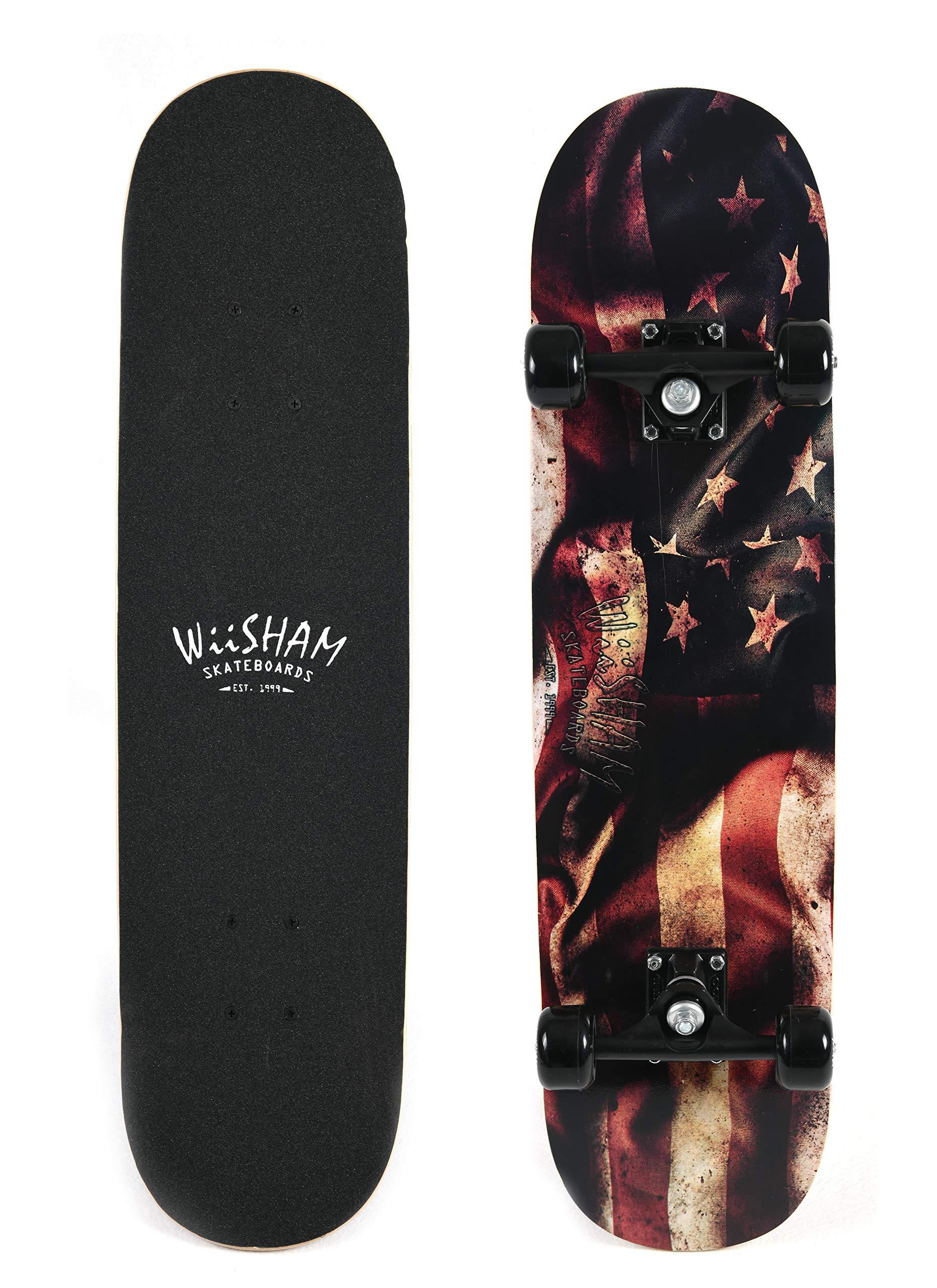 WiiSHAM Complete 31'' Skateboard by WiiSHAM