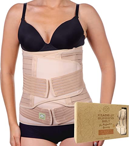 Belly Band for Pregnancy Postpartum Wrap Belly Binder Postpartum C section Plus