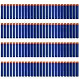 Nerf Darts ,StillCool 7.2cm 100 Stück Blue Foam Pfeile Patronen für Nerf N-Strike Elite Series Blasters Retaliator Longstrike Longshot Vulcan Spielzeug Stampede Minigun Recon scharfschützengewehr Zubehör(Ohne Bandolier )