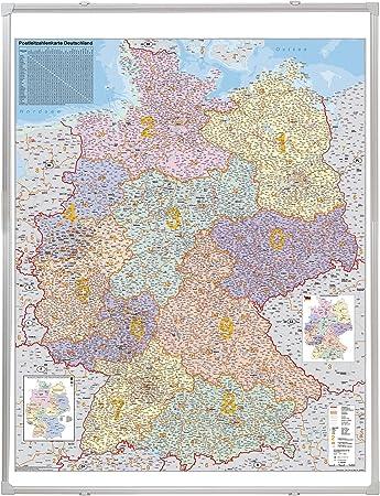 Franken Ka445p Kartentafel Plz Deutschland Pinnbar 1 750 000 138