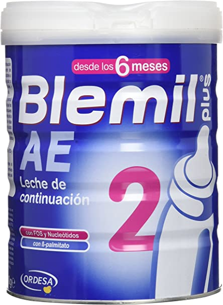 Blemil Plus 2 Leche Efecto Anti-Estreñimiento - 800 gr: Amazon.es ...