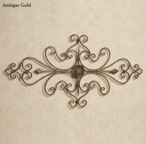 Touch of Class French Country Scroll Wrought Iron Wall Grille Art Rustic Decor