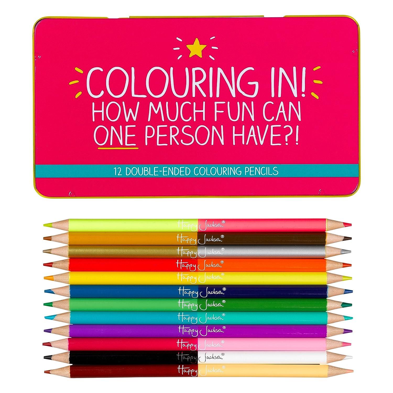 Happy Jackson - Lápices de colores: Amazon.es: Oficina y ...
