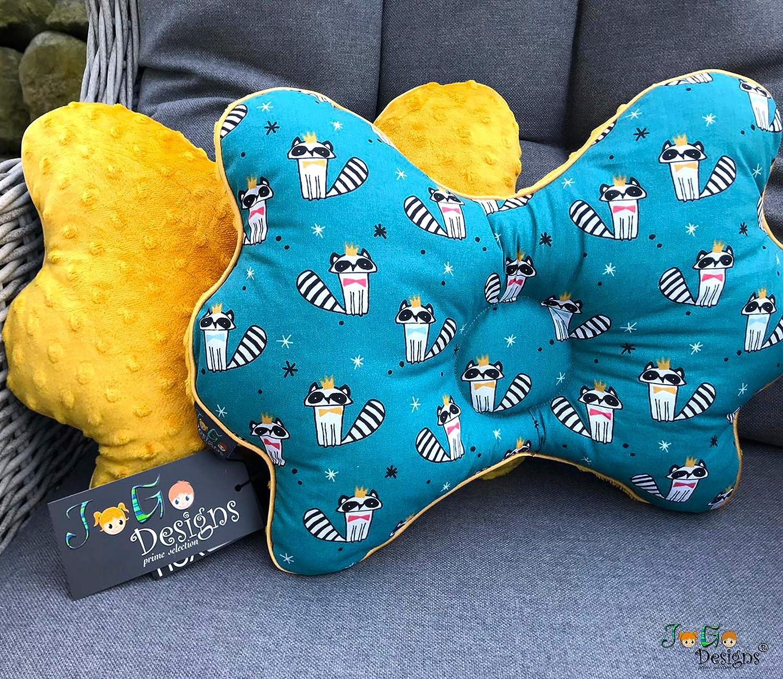 Schiefsch/ädel-Kopfform Vorbeugung /& Korrektur von Sch/ädel-Verformung Mit Kinder/ärztin entwickeltes Babykopfkissen gegen Plagiozephalie JoGo-Designs/® orthop/ädisches Babykissen gegen Plattkopf