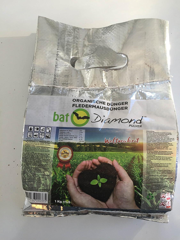 Bat Diamond Murciélago abono polvo 1 kg: Amazon.es: Jardín
