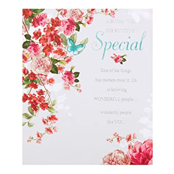 Hallmark Someone Special Birthday Card Wonderful People Like You