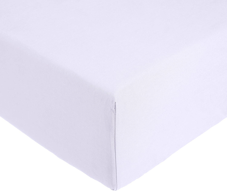 AmazonBasics Everyday - Sábana bajera ajustable (100% algodón ...