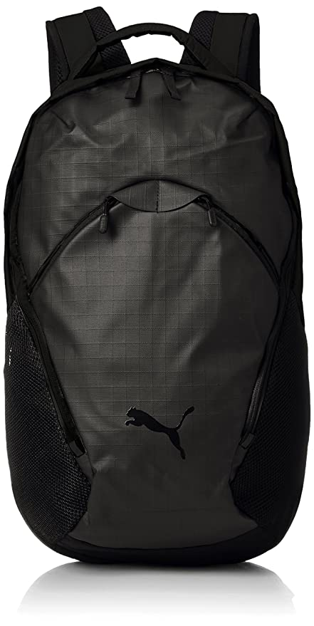 2ba08c396f Puma Polyester Black School Backpack  Amazon.in  Bags