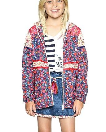 Amazon.com: Desigual Girls Coat parodia 18sgew04 (multicolor ...