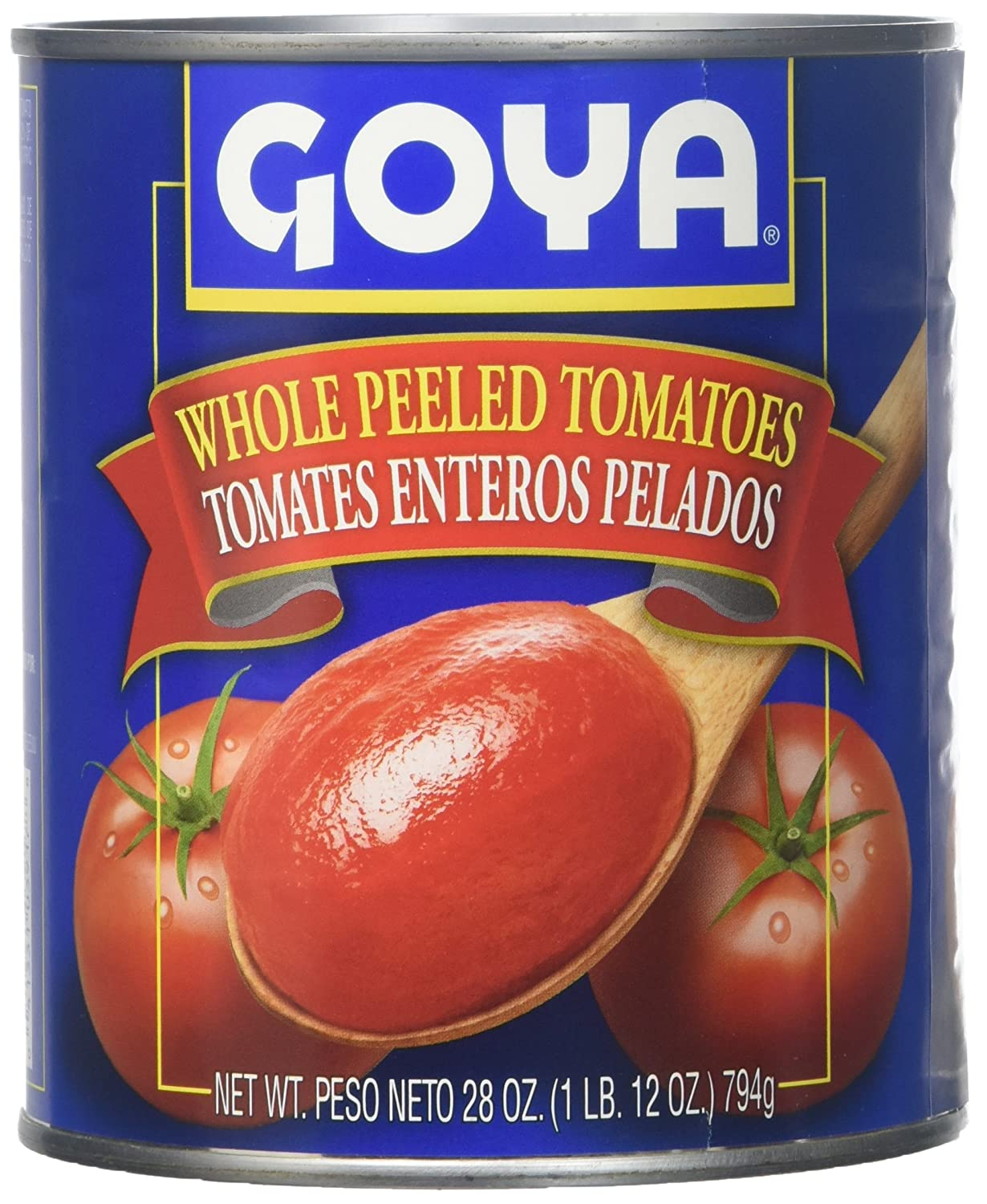 Amazon.com : Goya, Whole Peeled Tomatoes, 794 Grams(gm) : Grocery & Gourmet Food