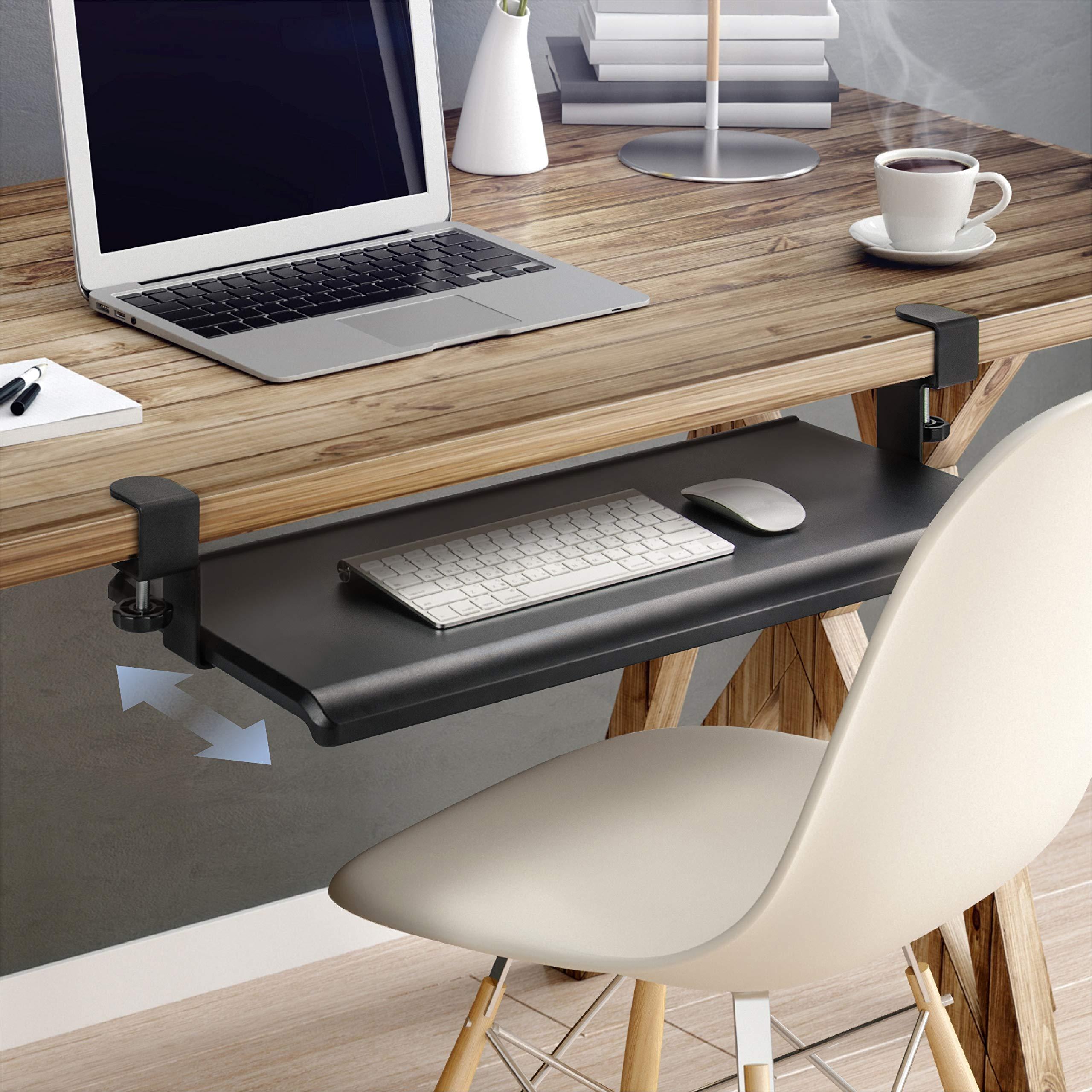 EHO Prime Desk Clamp Keyboard Tray Keyboard Drawer