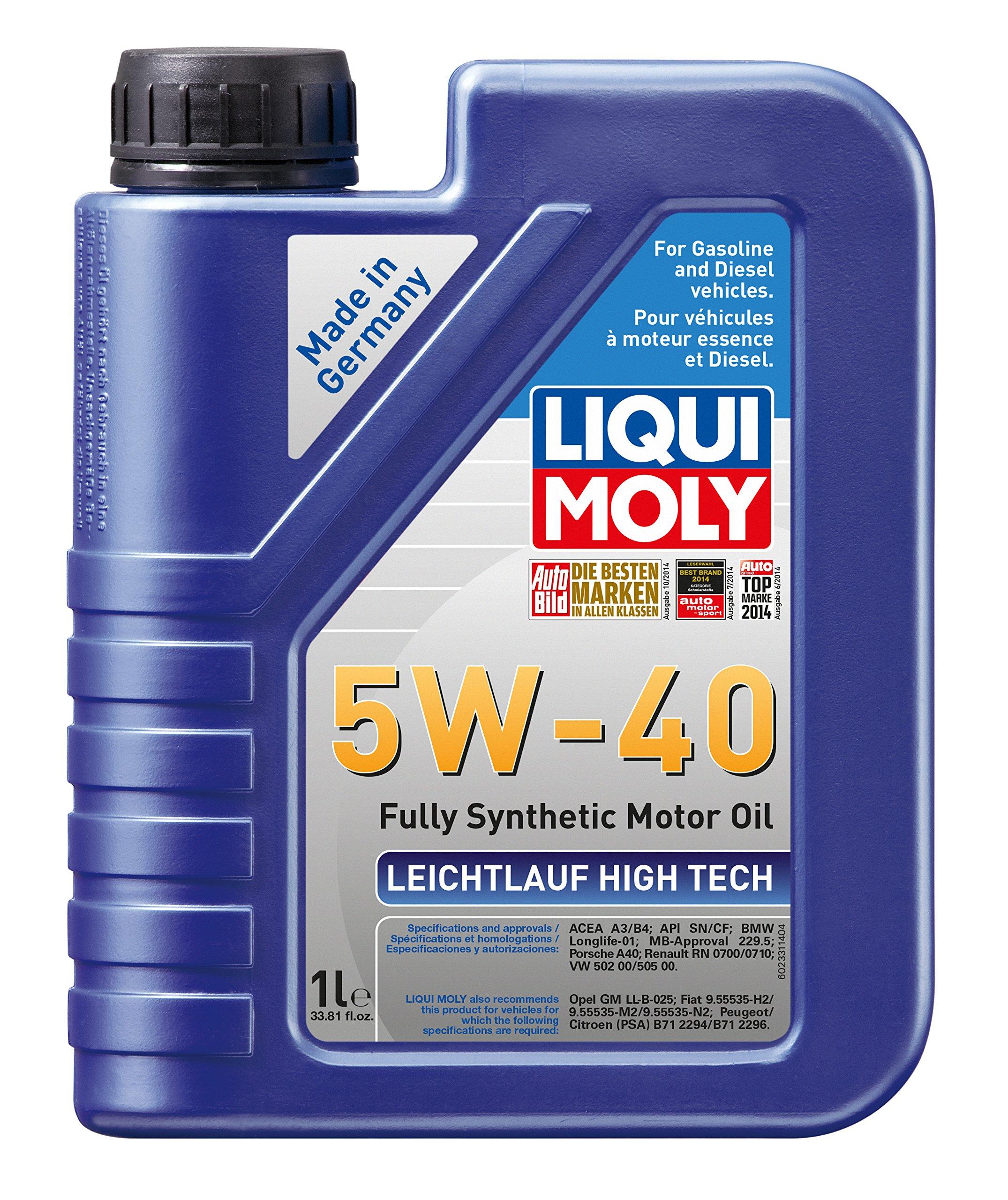 Liqui Moly 2331 Leichtlauf High Tech 5W-40 Engine Oil - 1 Liter by Liqui Moly
