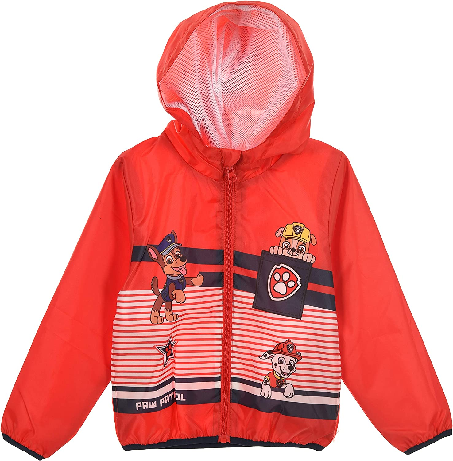 Nickelodeon Kids Boys Paw Patrol and Spiderman Lightweight Showerproof Jackets