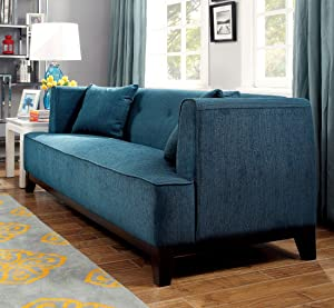 Furniture of America SOFIA Chair, Brown