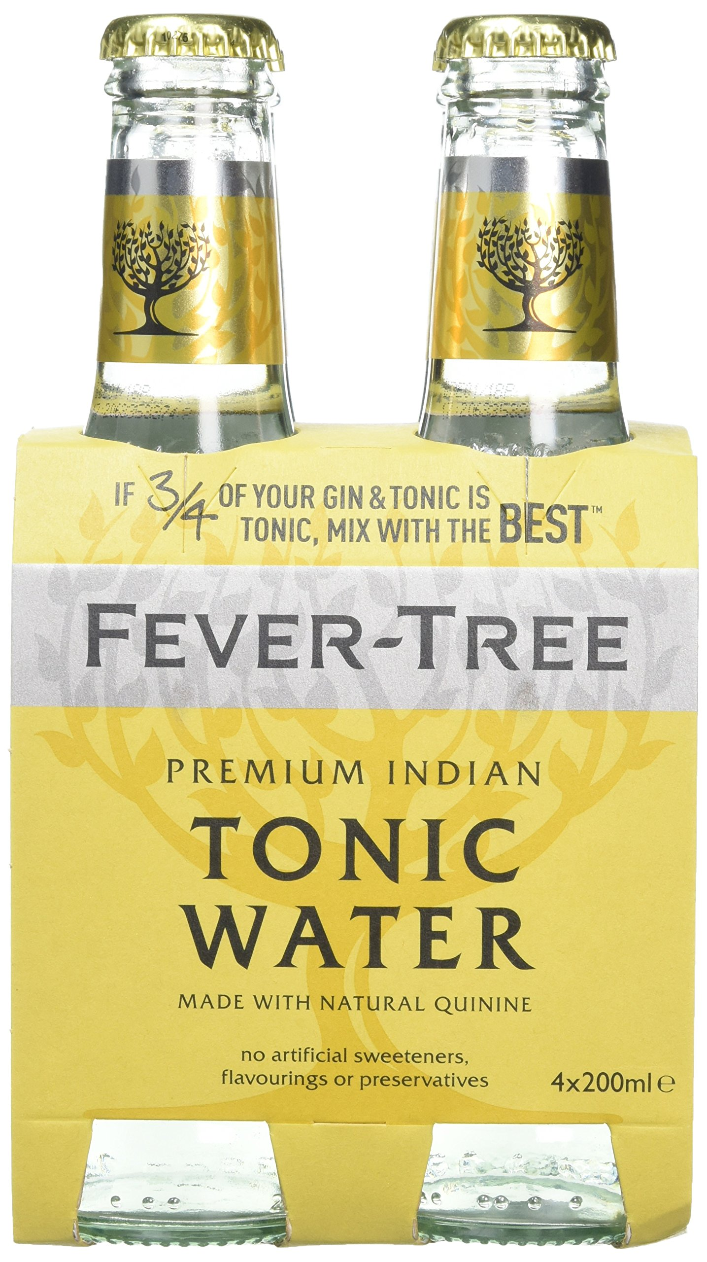 Fever Tree Indian Tonic Water (24 X 200ML)