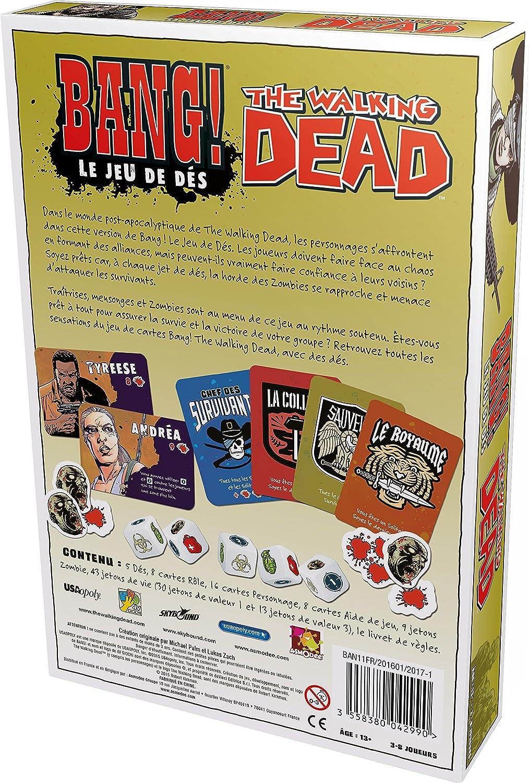 Asmodee Sociét-Bang The Walking Dead, BAN11FR: Amazon.es: Juguetes y juegos