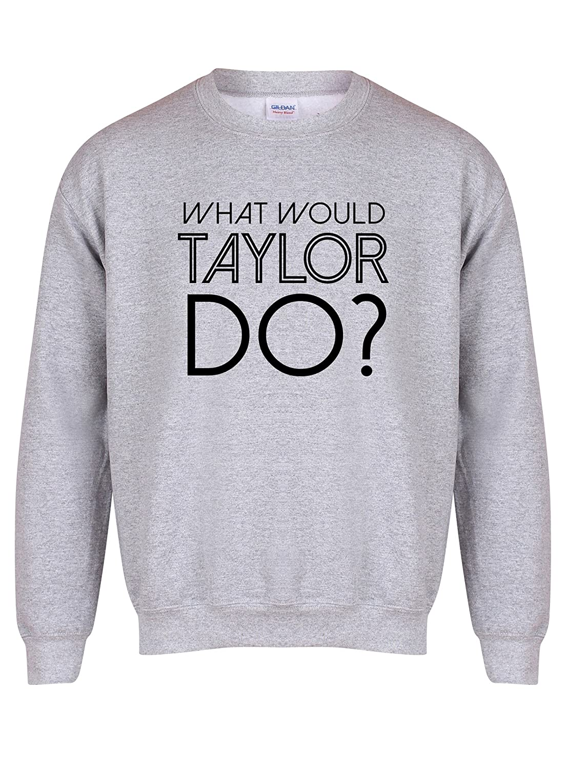 What Would Taylor Do? - Grey - Unisex Fit Sweater - Fun Slogan Jumper