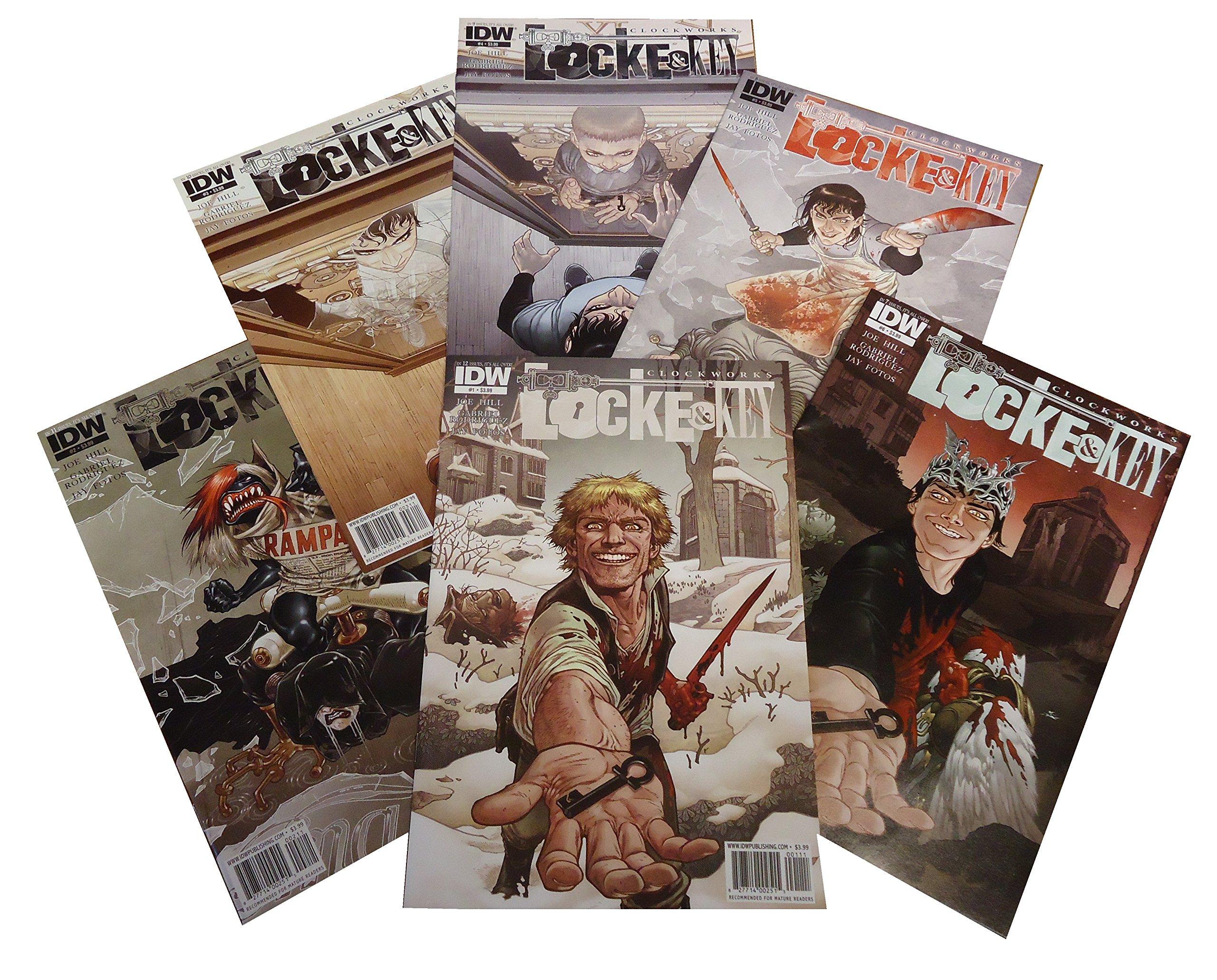 LOCKE /& KEY keys to the kingdom 1 1st print IDW COMIC JOE HILL GABRIEL RODRIGUEZ