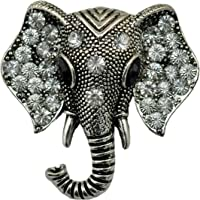 long river Individuality Retro Elephant Brooch, Antique Animal Pin