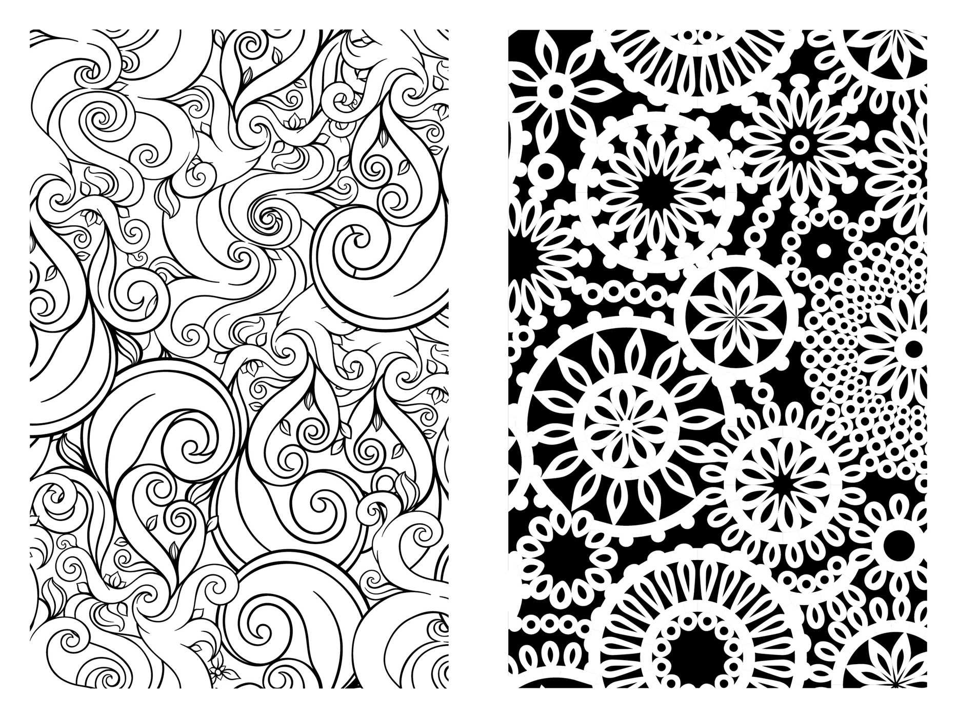 Coloring pages relaxing - Amazon Com Pocket Posh Adult Coloring Book Pretty Designs For Fun Relaxation Pocket Posh Coloring Books 9781449458720 Andrews Mcmeel Publishing