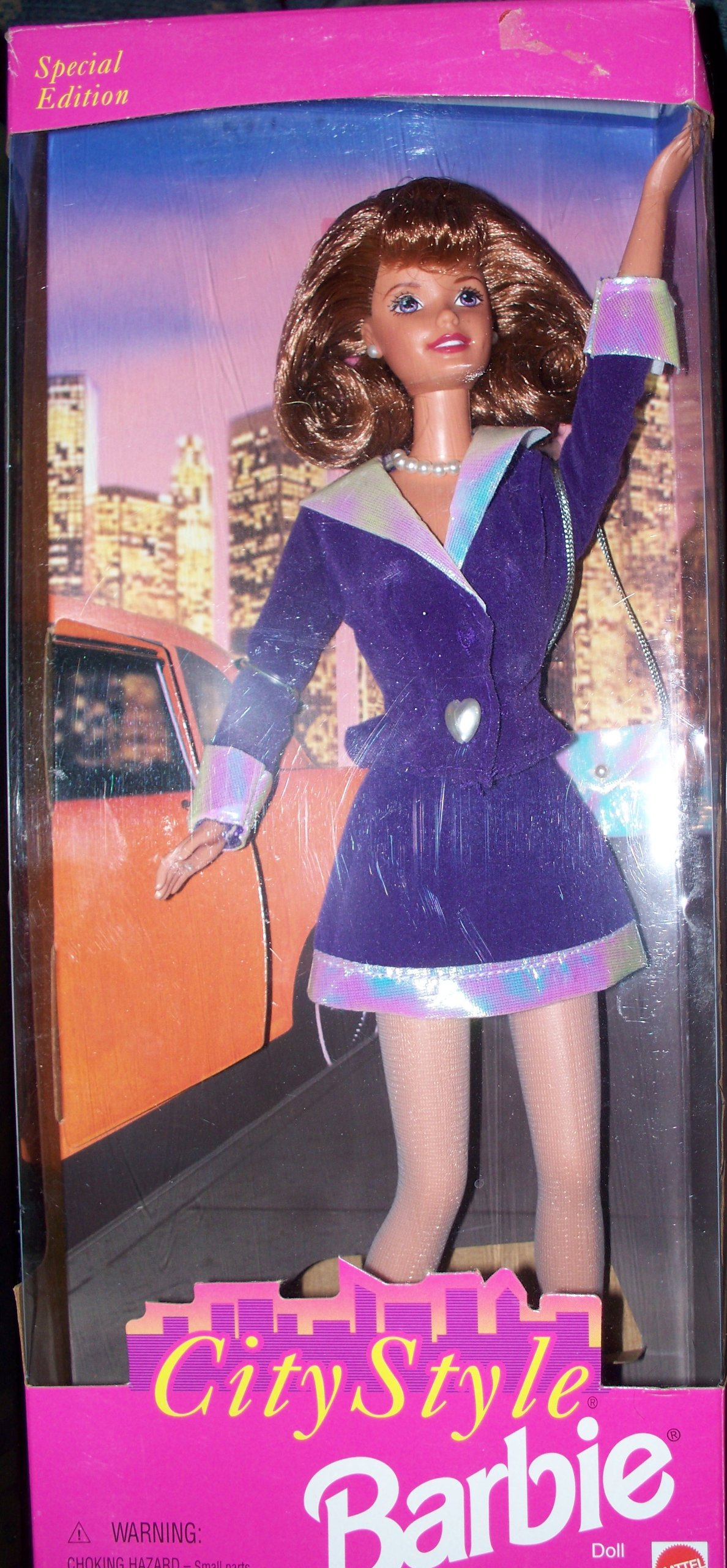 Barbie Doll Redhead City Style Special Edition Doll by Mattel