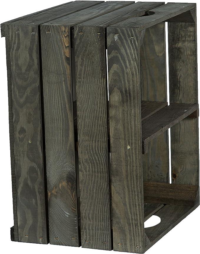 Kistenkolli Altes Land Massive Caja de Estante Zapatos Fruta (cajón-estantería tamaño Aprox. 50x 40x 31cm xxxaus del Antiguo landxxx Frutas Cajas de Vino Caja de Madera Decorativa Caja Estantería: Amazon.es: Hogar
