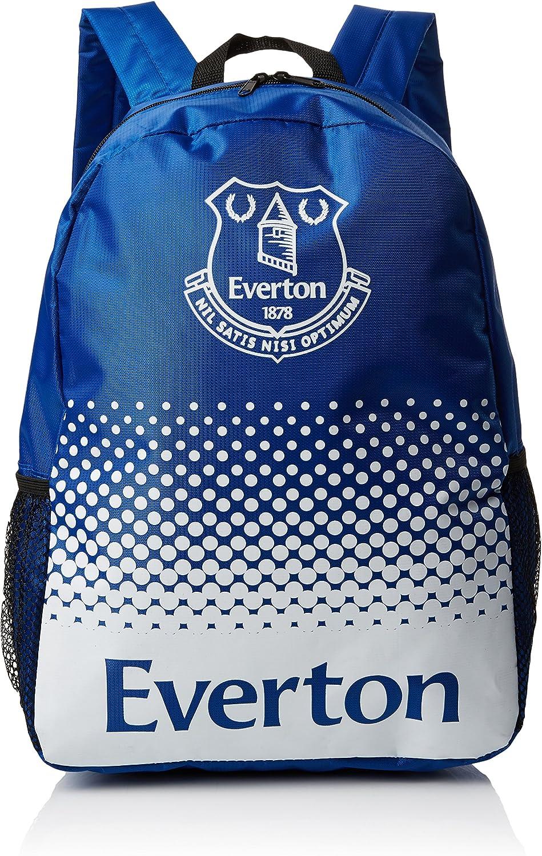 Everton FC Offizielles verblasst Crest Design Fu/ßball Rucksack//Rucksack