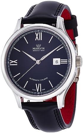 6b52ac8998 Amazon | [マーヴィン]MARVIN 腕時計 自動巻き M117.13.42.64 メンズ ...