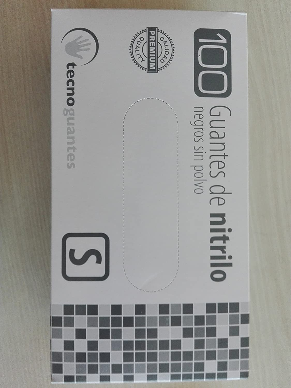 Guantes de nitrilo negro Extreme. Caja 100 uds. Talla Grande: Amazon.es: Bricolaje y herramientas