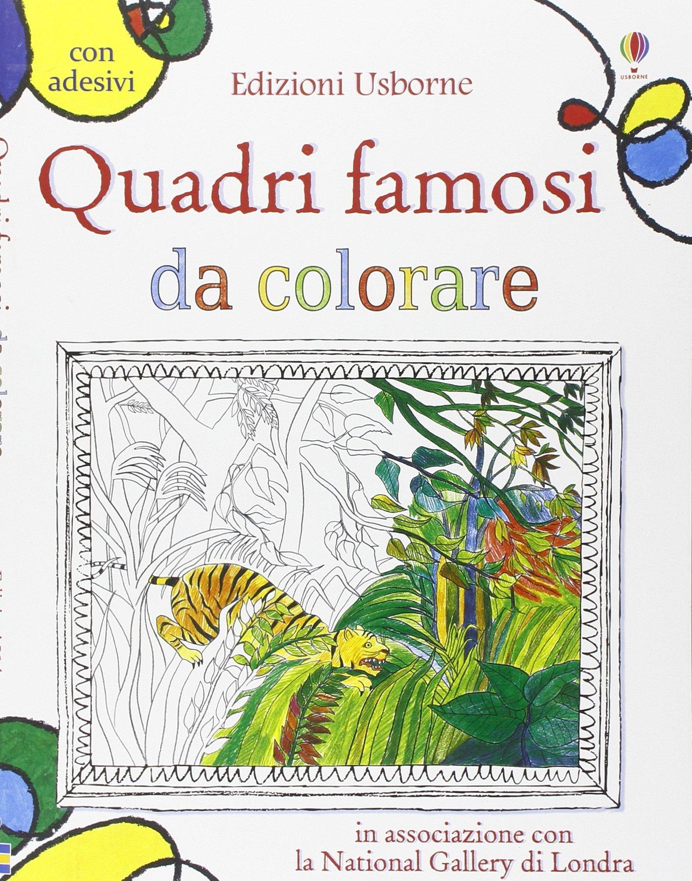 Amazon It Quadri Famosi Da Colorare Ediz Illustrata Courtauld