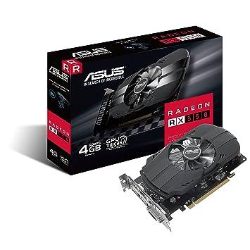 ASUS PH-RX550-4G-M7 Radeon RX 550 4GB GDDR5 - Tarjeta gráfica