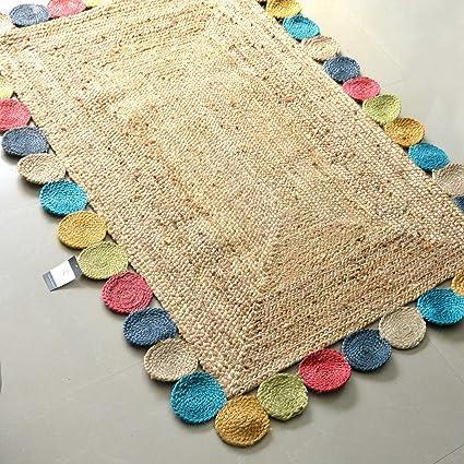 Avioni Home Jute Braided Area Rug , Handmade By Skilled Artisans