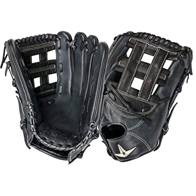 "All-Star Pro-Elite Series Black 12.75"" H-Web Baseball Glove : Clothing"
