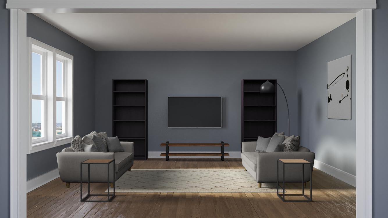 壁掛けテレビのある部屋