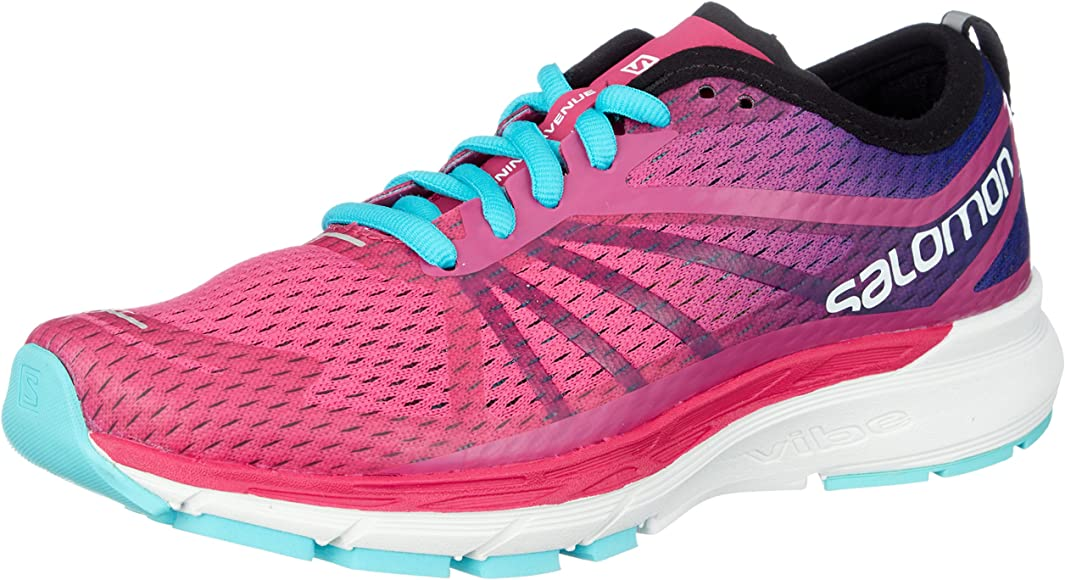 Salomon Sonic RA Pro W, Zapatillas de Trail Running para Mujer, Rosa (Pink Yarrow/Surf The Web/Blue Curac 000), 38 2/3 EU: Amazon.es: Zapatos y complementos
