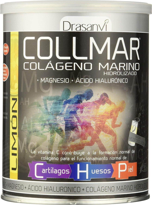 COLLMAR Limón Colágeno Hidrolizado + Magnesio + Vitamina C 300G ...