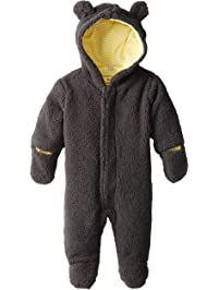 Magnificent Baby Unisex-Baby New-Born Ash Lemon Fleece Bear Pram