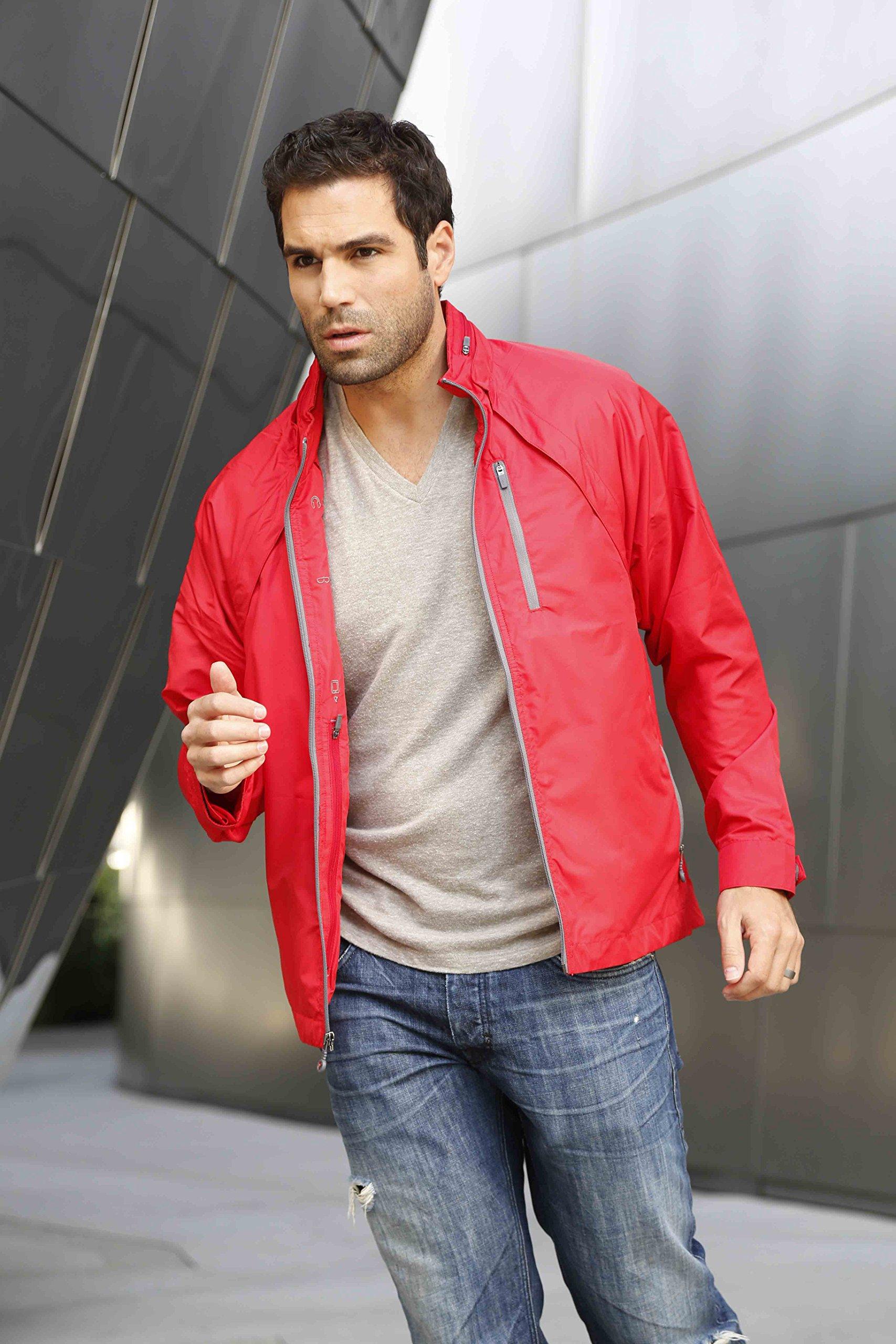 SCOTTeVEST Tropiformer Jacket - 22 Pockets – Convertible, Travel Clothing RED L by SCOTTeVEST (Image #3)